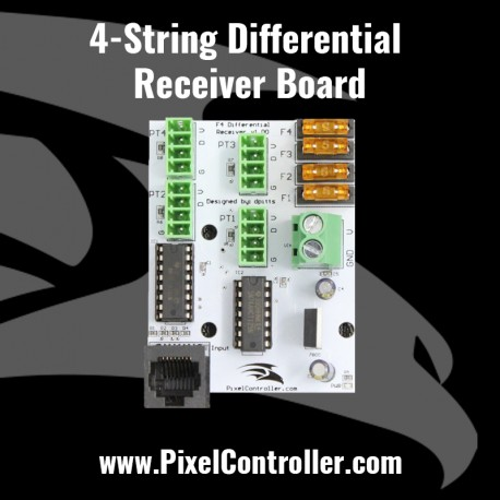 4-String Differential Receiver Board
