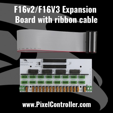 F16v2 Expansion Board with ribbon cable