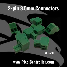 2-pin 3.5mm Connectors